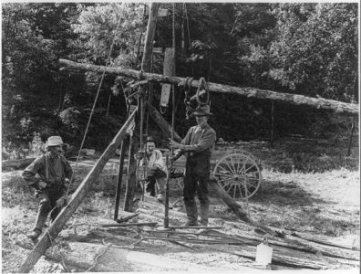 Oilfield Services - Historical Photo