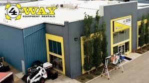 4-way Equipment Rental