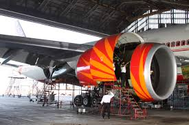 Airline Service Hanger (interior View)