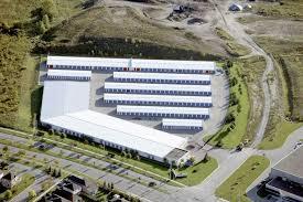 Self-Storage Facility Aerial View
